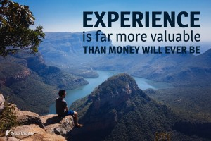 experience-than-money